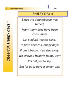 A Fragrant world - Smiley Day
